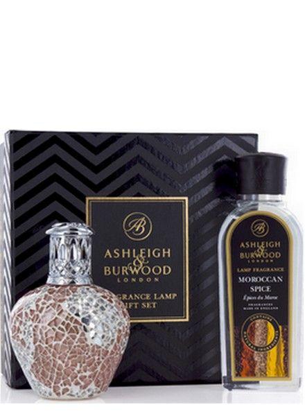 Ashleigh & Burwood Geurlamp Ashleigh & Burwood Apricot Shimmer Giftset