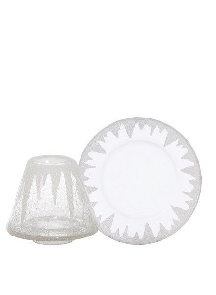 Yankee Candle Icicles Large Shade and Tray