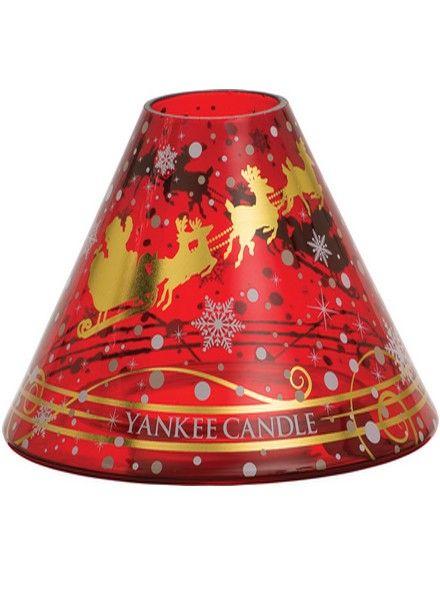 Yankee Candle Yankee Candle Santa Sleigh Large Shade and Tray