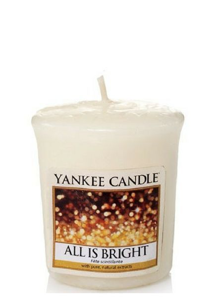 Yankee Candle Yankee Candle All Is Bright Votive