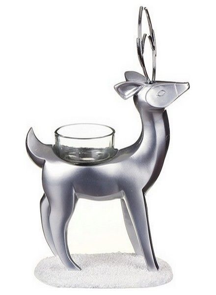 Yankee Candle Theelichthouder Artic Forest Reindeer Standing