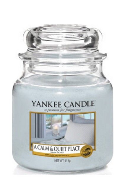 Yankee Candle Yankee Candle A Calm & Quiet Place Medium Jar