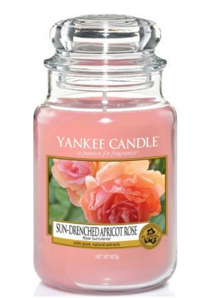 Yankee Candle Sun Drenched Apricot Rose Large Jar