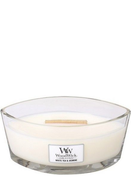 Woodwick Ellipse White Tea & Jasmine