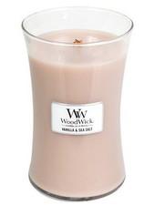 Woodwick Large Vanilla & Sea Salt