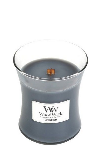Woodwick Woodwick Medium Candle Evening Onyx