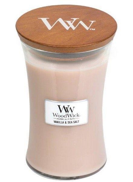 Woodwick Woodwick Large Candle Vanilla & Sea Salt