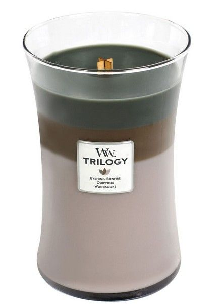 Woodwick WoodWick Cozy Cabin Trilogy Large Candle