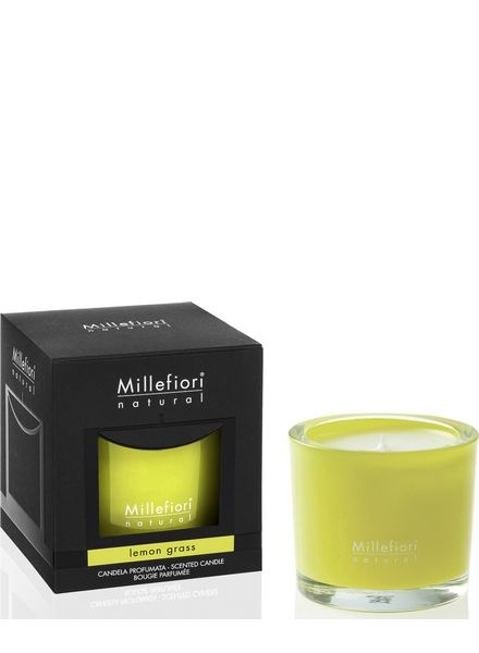 Millefiori Milano  Millefiori Milano Lemon Grass Geurkaars Natural