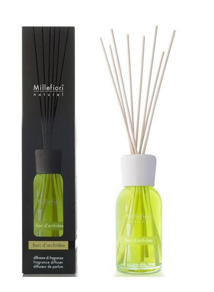 Millefiori Milano  Millefiori Milano Fiori Di Orchidea Geurstokjes Natural 100ml
