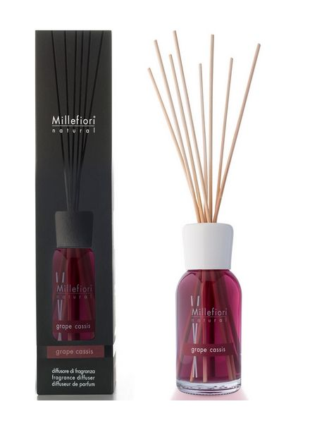 Millefiori Milano  Millefiori Milano Grape Cassis Geurstokjes Natural 100ml