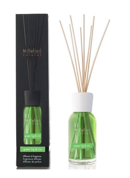 Millefiori Milano  Millefiori Milano Green Fig & Iris Geurstokjes Natural 100ml