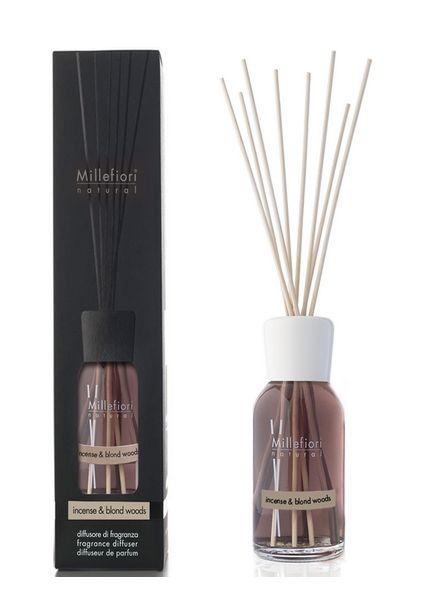 Millefiori Milano  Millefiori Milano Incense & Blond Woods Geurstokjes Natural 100ml