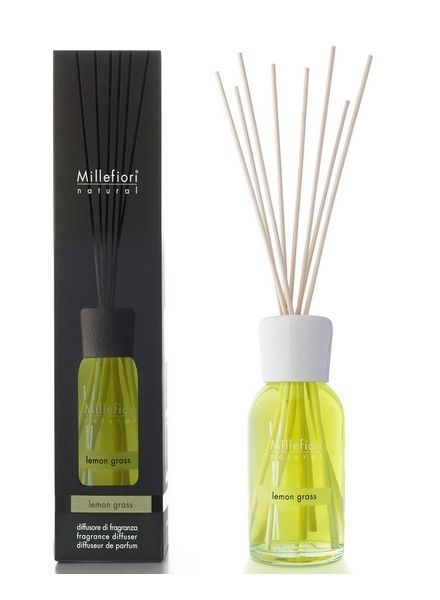 Millefiori Milano  Millefiori Lemon Grass Geurstokjes 100ml