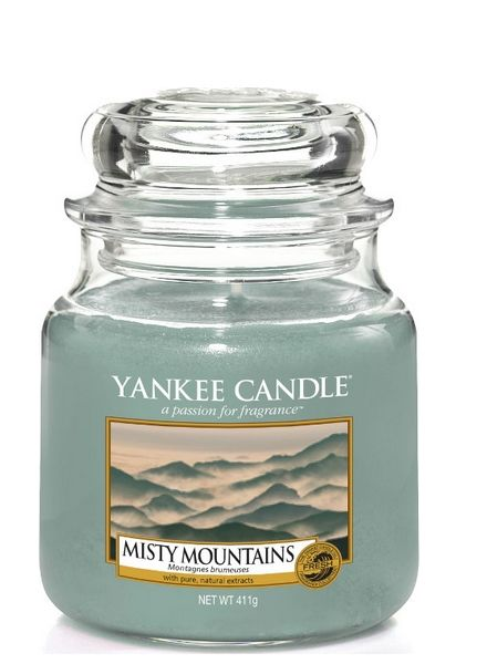 Yankee Candle Yankee Candle Misty Mountains Medium Jar