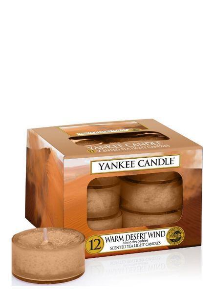 Yankee Candle Warm Desert Wind Theelichten