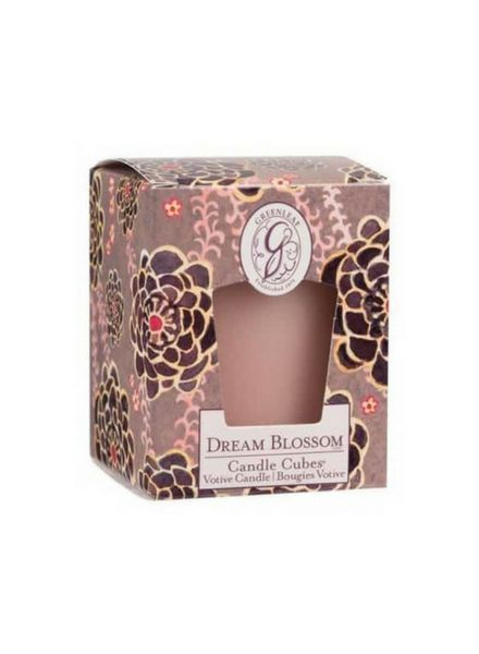 Greenleaf Candle Cube Dream Blossom