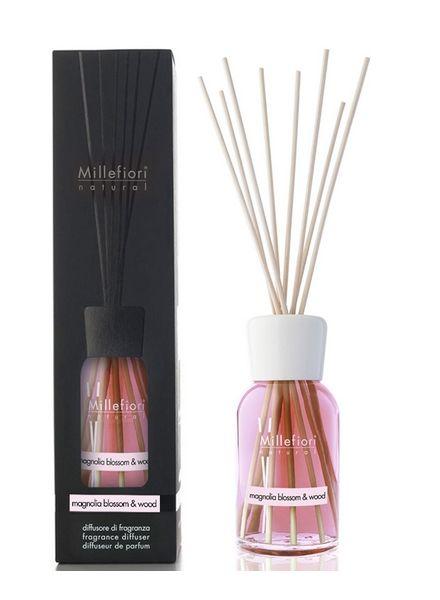 Millefiori Milano  Millefiori Milano Magnolia Blossom & Wood Geurstokjes Natural 100ml