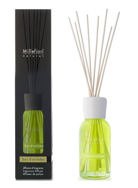 Millefiori Milano  Millefiori Milano Fiori Di Orchidea Geurstokjes Natural 250ml