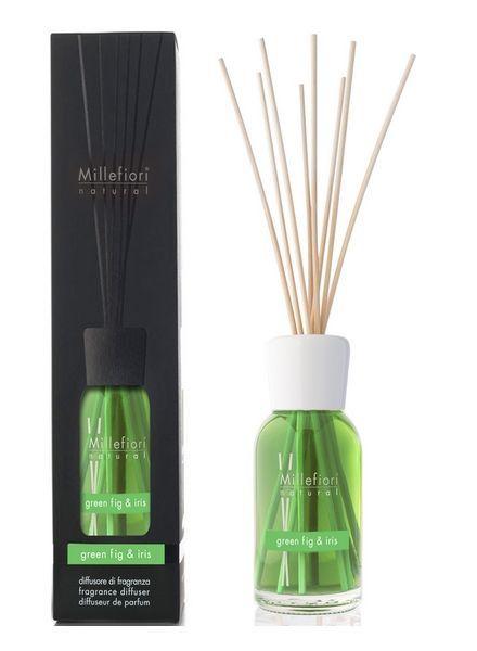 Millefiori Milano  Millefiori Green Fig & Iris Geurstokjes 250ml