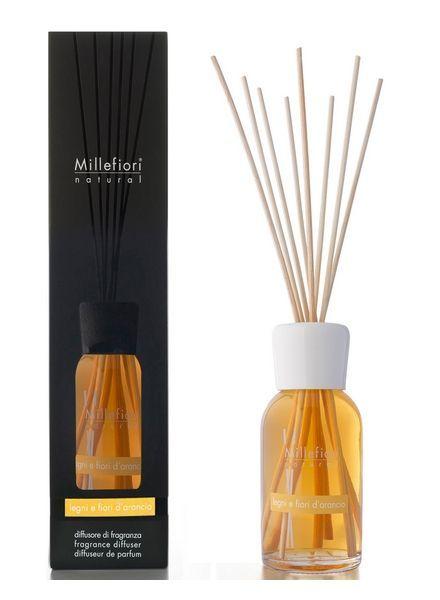 Millefiori Milano  Millefiori Legni E Fiori D'Arancio Geurstokjes 250ml