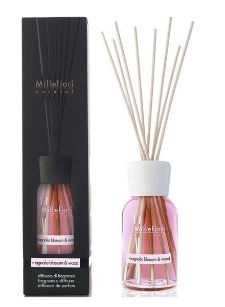 Millefiori Milano  Millefiori Magnolia Blossom & Wood Geurstokjes 250ml