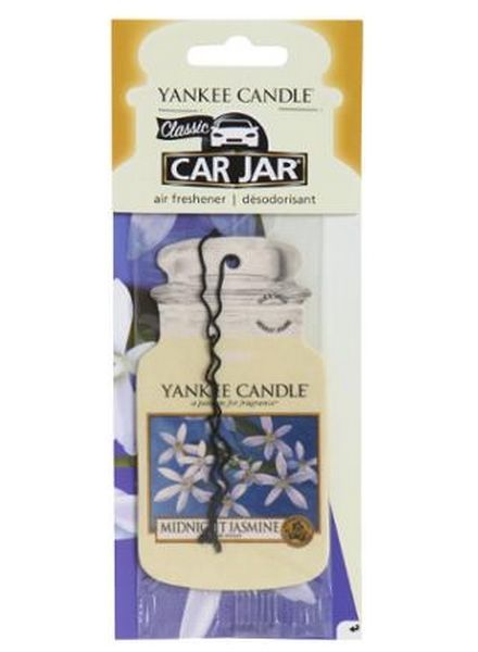 Yankee Candle Car Jar Midnight Jasmine