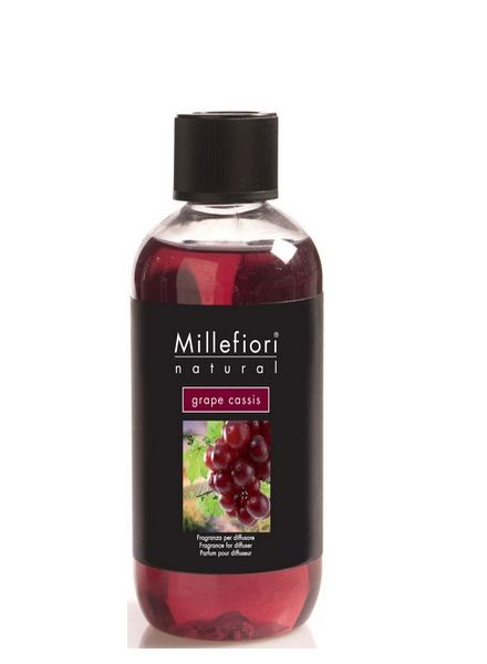 Millefiori Milano  Millefiori Milano Grape Cassis Navulling Natural 250ml