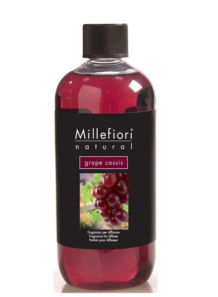 Millefiori Milano  Millefiori Grape Cassis Navulling 500ml