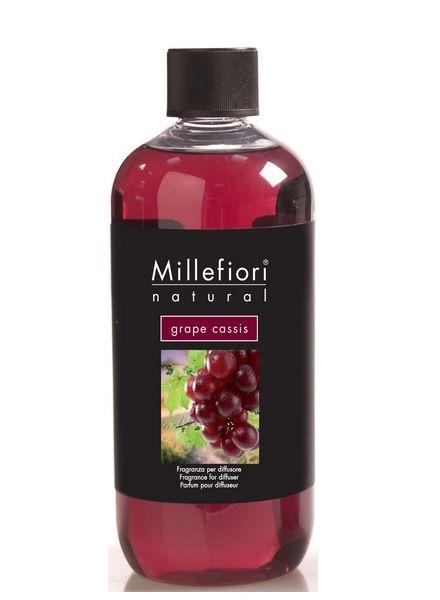 Millefiori Milano  Millefiori Milano Grape Cassis Navulling Natural 500ml