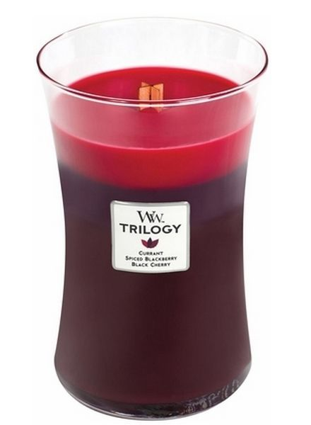 Woodwick Large Trilogy Sun Ripened Berries