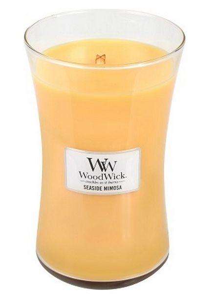 Woodwick WoodWick Large Candle Seaside Mimosa