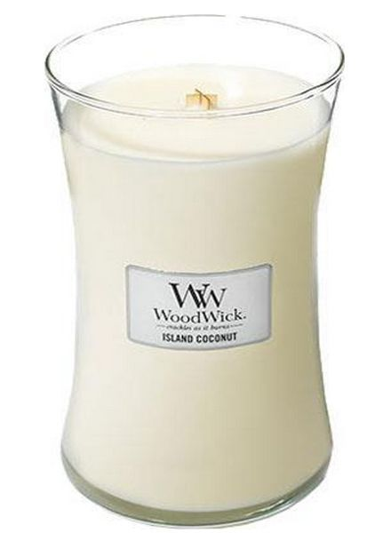Woodwick Large Island Coconut
