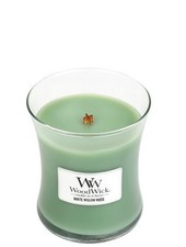 Woodwick Medium White Willow Moss