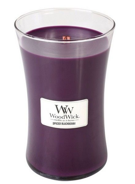 Woodwick WoodWick Large Candle Spiced Blackberry