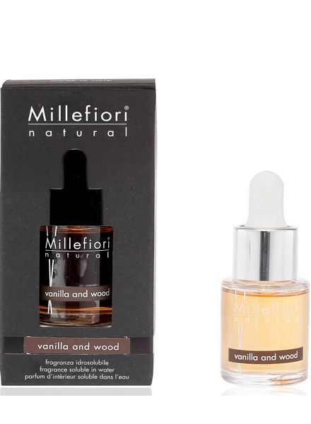 Millefiori Milano  Millefiori Milano Vanilla & Wood Geurolie