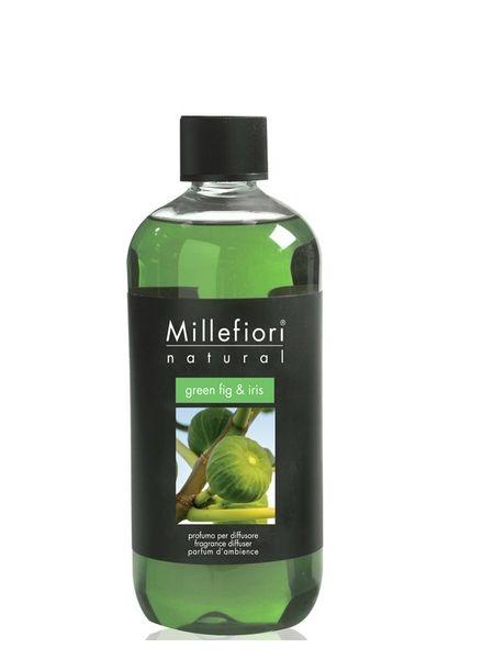 Millefiori Milano  Millefiori Milano Green Fig & Iris Navulling Natural 250ml