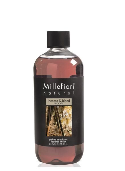 Millefiori Milano  Millefiori Incense & Blond Woods Navulling 250ml
