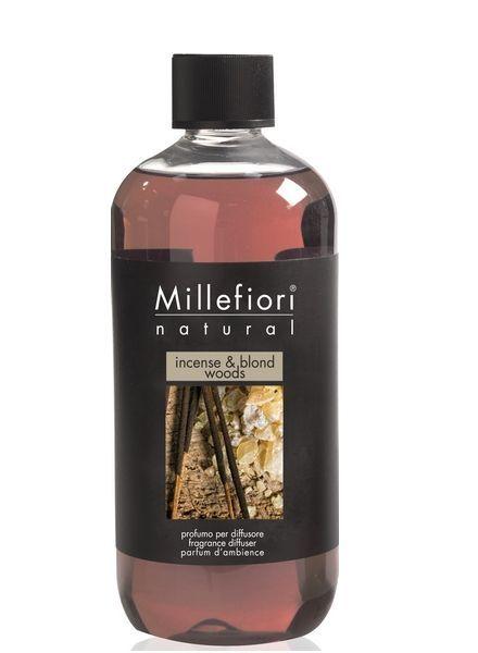 Millefiori Milano  Millefiori Incense & Blond Woods Navulling 500ml