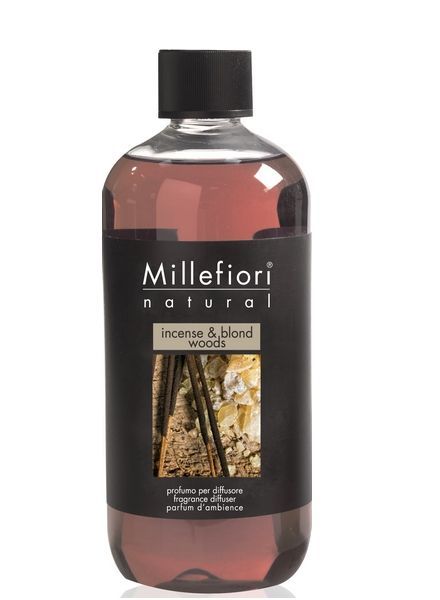 Millefiori Milano  Millefiori Milano Incense & Blond Woods Navulling Natural 500ml