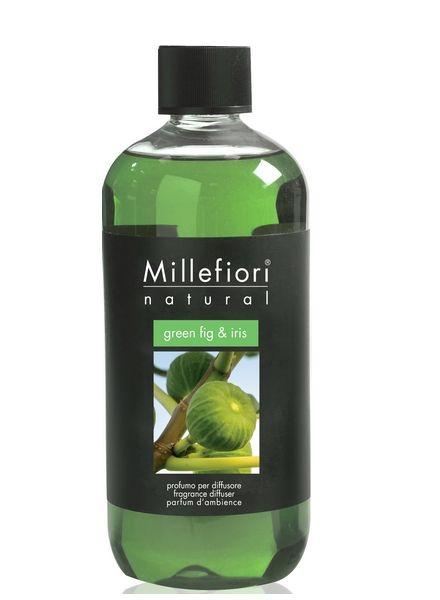 Millefiori Milano  Millefiori Milano Green Fig & Iris Navulling Natural 500ml