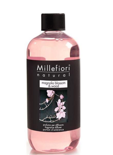 Millefiori Milano  Millefiori Milano Magnolia Blossom & Wood  Navulling Natural 500ml