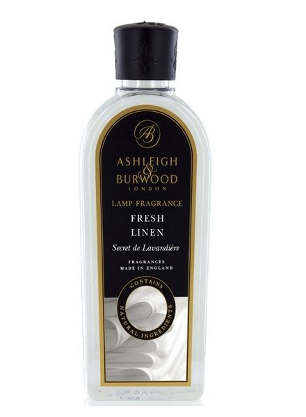 Ashleigh & Burwood Geurlamp Olie Ashleigh & Burwood Fresh Linen 500 ml