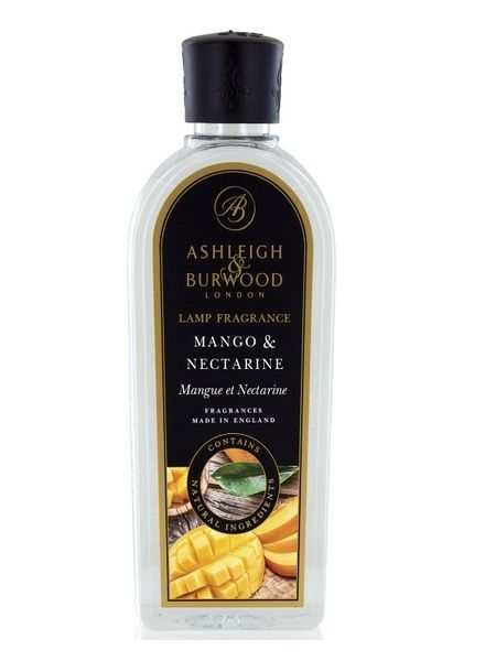 Ashleigh & Burwood Geurlamp Olie Ashleigh & Burwood Mango & Nectarine 500 ml