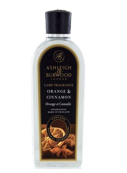 Ashleigh & Burwood Geurlamp Olie Ashleigh & Burwood Orange & Cinnamon 500 ml