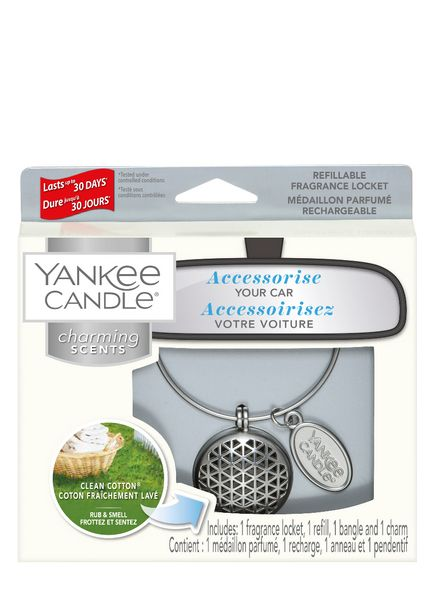 Yankee Candle Yankee Candle Charming Scents Geomatric Starter Kit Clean Cotton