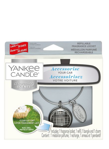 Yankee Candle Yankee Candle Charming Scents Linear Starter Kit Clean Cotton