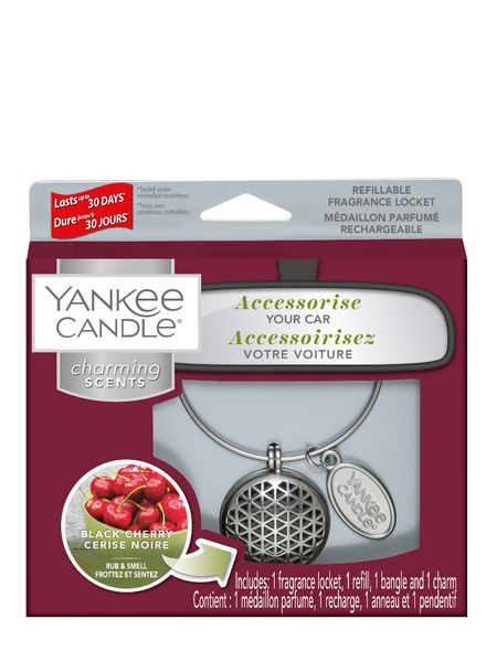 Yankee Candle Yankee Candle Charming Scents Geomatric Starter Kit Black Cherry