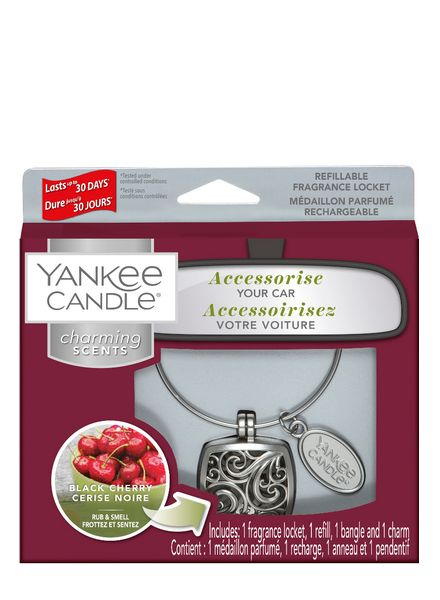 Yankee Candle Yankee Candle Charming Scents Square Starter Kit Black Cherry