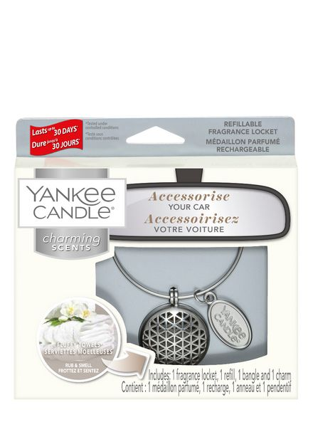 Yankee Candle Yankee Candle Charming Scents Geomatric Starter Kit Fluffy Towels